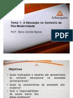 VA Estrutura e Organizacao Da Educacao Brasileira Aula 01 Tema 01