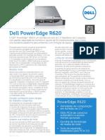 Dell PowerEdge R620 Spec Sheet PT BR