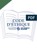 Code D'Ethique