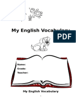 Englishvocabulary Book