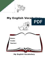 Englishvocabulary Book