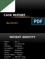 Case Report DR