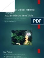 Functional Voice Training