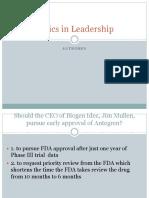 3. Antegren - Ethics and Responsibilities of Leadership