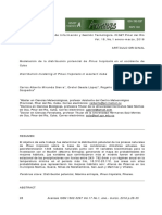 Modelación de la distribución potencial de Pinus tropicalis en el occidente de Cuba Carlos Alberto Miranda Sierra, Gretel Geada López, Rogelio Sotolongo Sospedra