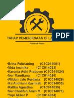 TAhap Pemeriksaan Audit Lapangan