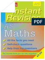 As Maths (Instant Revision)