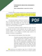 o Sistema de Precedentes Obrigatorio Ordenamento Juridico Brasileiro