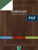 Winter 2017 Timberlake Full Line Brochure