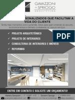 Flyer Gs Arquitetura Rodada de Negocios