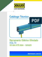 Barramento Eletrico Blindado KSL70