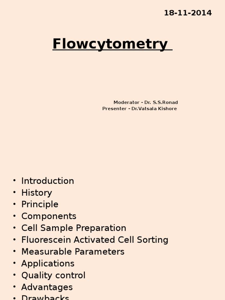 Flowcytometry pptx   Flow Cytometry   Cytometry