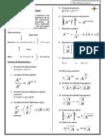 Teoria de Exponentes