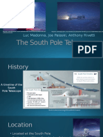 the south pole telescope