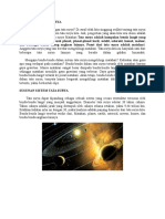 Pengertian Tata Surya