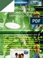 Administracion de La Empresa Digital