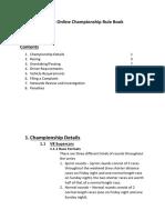 championship rules