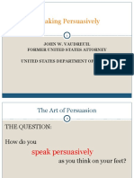 2 Speaking Persuasively