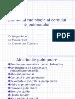 Examenul Radiologic Al Toracelui