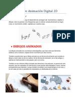 Los Tipos de Animación Digital 2D