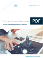 The New Role of the Architect - Capgemini