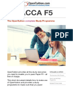 ACCA F5 Study Guide OpenTuition