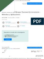 Multi-Source Del Inventario Forestal Nacional - Métodos y Aplicaciones (PDF Tra