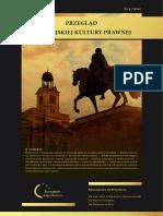 Przegląd Europejskiej Kultury Prawnej nr 4
