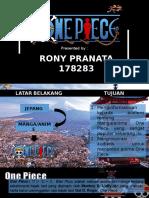 Presentasi Individu (Rony Pranata)