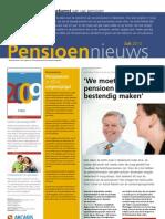 Uw pensioenfondsbelegden nemen Hewitt Belgium Pensioennieuws 2010 juli