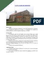 Monasterio de Santa Maria de Mezonzo (Final)