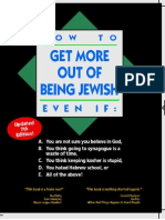How to Get More Out of Being Jewish