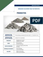 Ficha Tecnica Agregados-productos