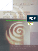 Organizational Diagnosis & Assessment