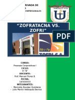 Zofratacna vs Zofri