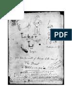 Manuscrito Do Livro Da Lei