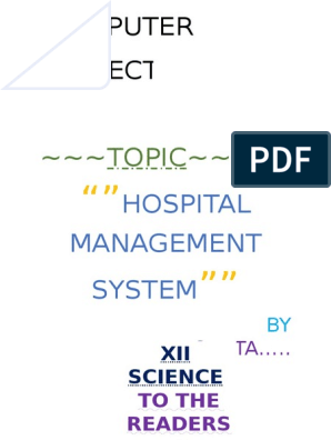 292609858-Computer-Science-C-project-on-Hospital-Management-System