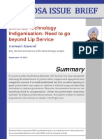 Defence Technology Indigenisation-Need to go beyond Lip Service.pdf