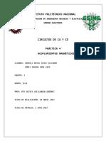 Reporte Practica 4 - Circuitos CA y CD