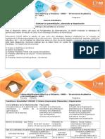 Guía de Actividad y Rúbrica - Paso 2. Elaborar Generalidades, Planeación y Organización Empresa Alpina