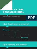 003_PEDLCO - Cultura y Clima Organizacional