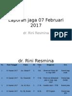 Laporan Jaga 07 Februari 2017