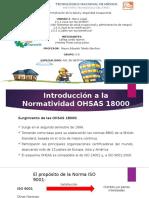 OHSAS 18000 Y CERTIFICACIÓN.pptx