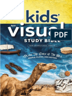 NIV Kids' Visual Study Bible Sampler