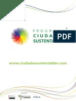 Publicacion Programa Ciudades Sustentables