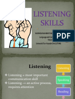 11. Listening Skills