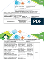 Guía de Actividades y Rúbrica de Evaluación - Fase 2 – Presentación de Estudios Ambientales