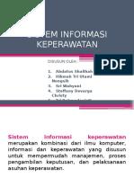 Presentasi 2 Sistem Informasi Keperawatan