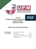 Report Bhopal Union Carbide