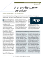 The Impact of Architecture on Collective Behaviour